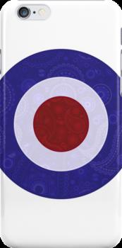 Paisley Design Mod Target by Auslandesign
