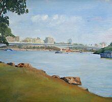 Brisbane River 1999 by STHogan