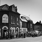 Aldeburgh Chip Shop Queue by Steve Taylor