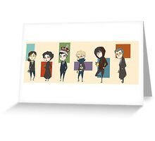 Sherlock Army Greeting Card