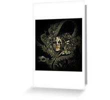 Venetian alien Greeting Card