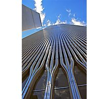 Twin Towers Photographic Print