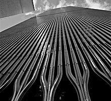 Twin Towers (Monochrome) by Images Abound | Neil Protheroe
