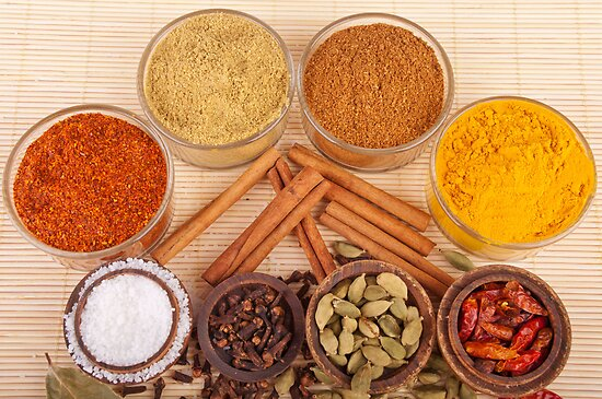 Spices and herbs by luissantos84