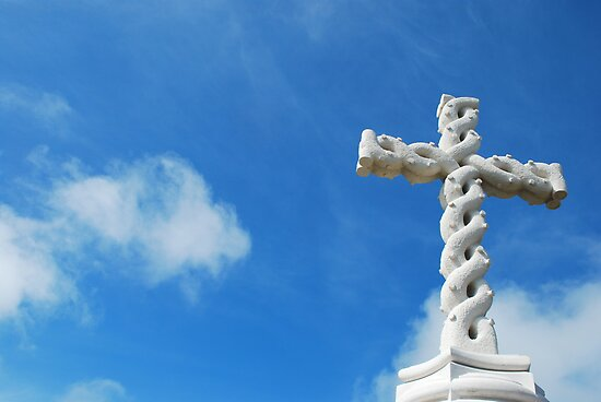 Cross in clouds  by luissantos84