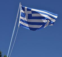 Greek flag by luissantos84