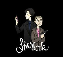 Sherlock (original colouring) by nowaitwhat
