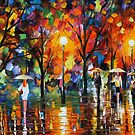 THE SONG OF THE RAIN - LEONID AFREMOV by Leonid  Afremov