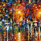 THE SONG OF THE RAIN - LEONID AFREMOV by Leonid  Afremov