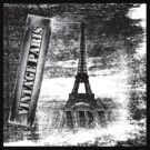 Vintage Eiffel Tower Paris #3 T-shirt by Nhan Ngo