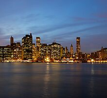 Dusk over Lower Manhattan  by Images Abound | Neil Protheroe