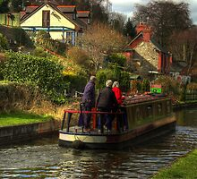 Narrowboat Jenny - Llangollen Canal by SimplyScene