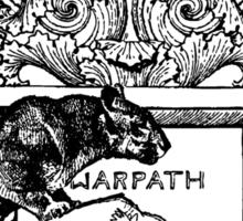 WARPATH Sticker