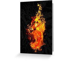 I Will Burn You Greeting Card