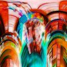 Coloured Abstract #2 by Benedikt Amrhein