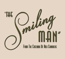 The Smiling Man -- Logo (Light) by B.J. West