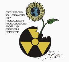 Citizens in Favor of Nuclear Holocaust Kids Clothes