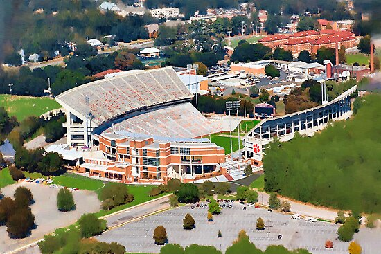 Death Valley at 700&#x27; - Clemson University by Randall Faulkner
