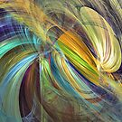 With my son by Fractal artist Sipo Liimatainen