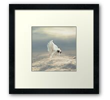 Free Falling Dream Framed Print