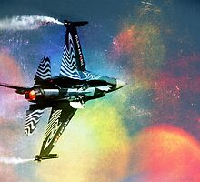 F16 Sound in Colour by Bob Martin