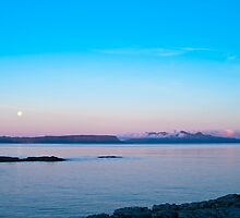 Seascape, Dawn, Islands, Inner Hebrides, Scotland,  by Hugh McKean