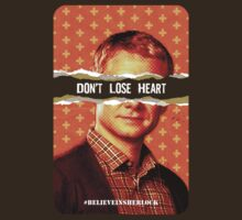 Don't Lose Heart - T-shirt by thatjessjohnson