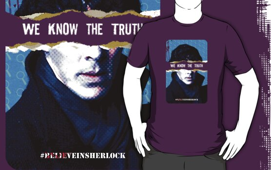 We Know the Truth -T-shirt by thatjessjohnson