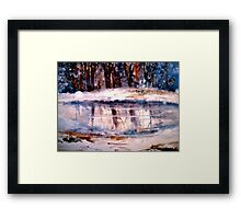 That Winter Day Framed Print