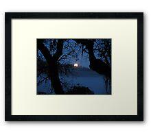 End of Edens Night Framed Print