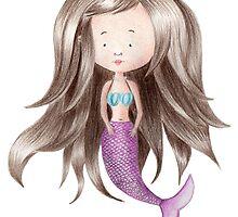 Melancholy Mermaid by Beth Thompson