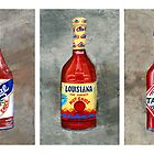 Hot Sauce Trio by Elaine Hodges
