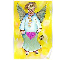 St. Valentine's Angel Poster