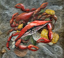 Crab Boil by Elaine Hodges