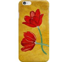 Tulips with Love, Happy Together  iPhone Case/Skin