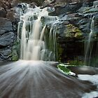 Deep Creek Waterfall by sean burke
