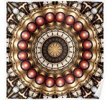 Steampunk Kaleidoscope 13 Poster