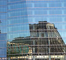 Cathedral Reflection #2, Rio de Janeiro, Brazil by Carole-Anne