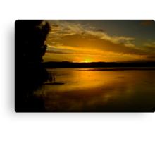 Coastal Sunset. (10-2-12) Canvas Print