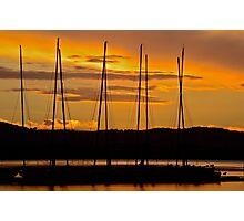 Coastal Sunset. 2 (10-2-12) Photographic Print