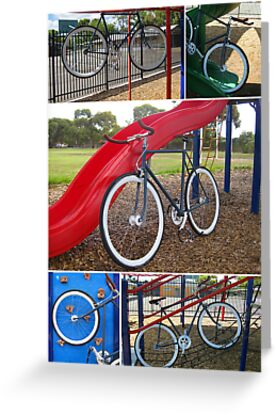Fixie Playground Collage by RobsVisions