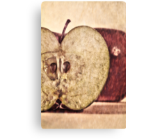An apple a day... red Canvas Print