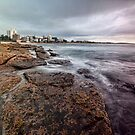 On the Rocks - Cronulla NSW by Malcolm Katon