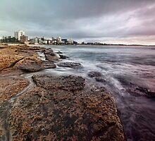 On the Rocks - Cronulla NSW by Malcolm Katon