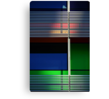 colours and shapes of the city 1 Canvas Print