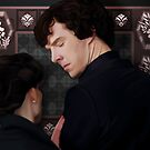 You flirted with Sherlock Holmes? by nero749