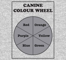 Canine Colour Wheel by Raz Solo