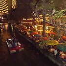 Night life on the river walk by Jamie  Armbruster
