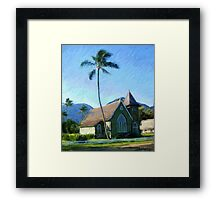 Kauai Church Framed Print