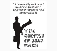 The Ministry of Silly Walks 1 by The Zuper Man .